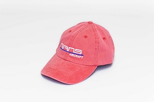 RANS Cap-Red and White