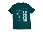 RANS Aircraft 3-View T-Shirt, S-7